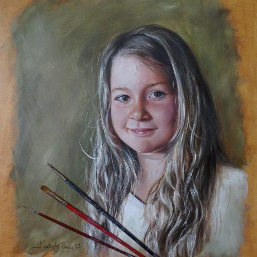 realistische Portraitmalerei