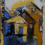 Gelbe Häuser